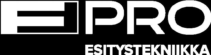 F-PRO Esitystekniikka -logo